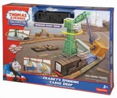 Konstruktorius BDP10 / R9489 Fisher Price Thomas & Friends Cargo Drop Geležinkelis vaikams