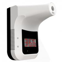 Bekontaktis termometras Maxkin Handfree Infrared Thermometer K3 White Veido, galvos apsaugos bei dezinfekcinės priemonės