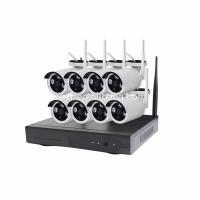 Belaidė tinklinė vaizdo įrašymo sistema WiFi NVR Kit PMX 8CH+8 vnt. 960P kamerų Vaizdo įrašymo įrenginiai