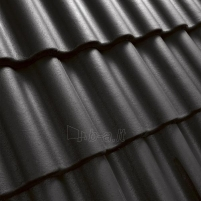 Benders Palema concrete roof tile, granit Concrete roof tiles