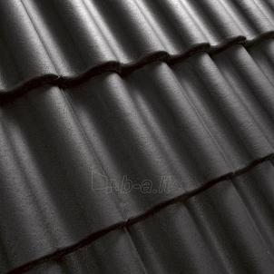 Benders Palema betoninė čerpė, juoda Betoninės čerpės