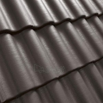 Benders Palema concrete roof tile, (Grey)