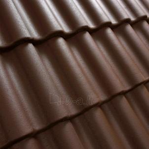 Benders Palema betoninė čerpė, ruda Betoninės čerpės