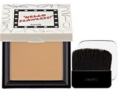 Benefit Hello Flawless Powder Cover-up Cosmetic 7g (Color Shell) Pudra veidui