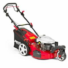 Gas electric scarifier lawnmower HECHT 5533 SW 5 in 1 (3,5AG, plotis 51cm)