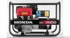 Benzininis generatorius Honda EC 3600 Benzīna elektroģeneratoru