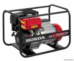 Benzininis generatorius Honda ECT 7000 P Benzīna elektroģeneratoru