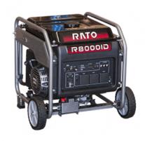 Benzininis generatorius RATO R8000ID, 7.0kW, 230V,