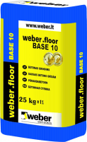 Floor concrete weber.floor BASE 10 (10-80mm ) 25 kg Masonry mortars