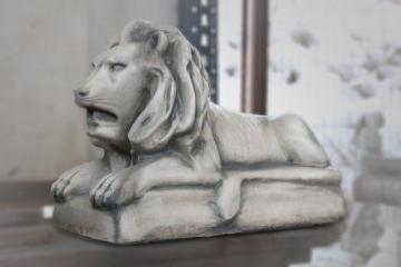 Concrete Lion, H-41 cm Decorative concrete products