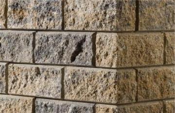 Betoninis tvoros stulpo elementas Matas L (geltonas) Fence pole items