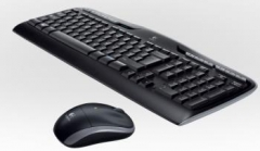 Bevielė klaviatūra Logitech Pelė Desktop MK330, US