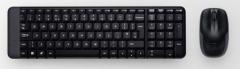 Bevielė klaviatūra Logitech Desktop MK220