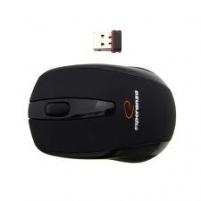 Bevielė optinė pelė Esperanza EM116 USB|NANO imtuvas 2,4 GHz|Juoda