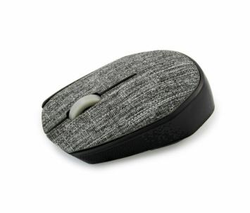 Bevielė optinė pelė Vakoss Tekstilės TM-662A 3D, 1000DPI, 2.4GHz, pilkas