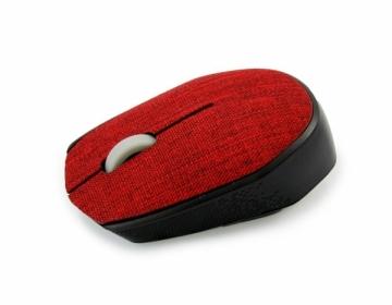 Bevielė optinė pelė Vakoss Tekstilės TM-662R 3D, 1000DPI, 2.4GHz, raudona