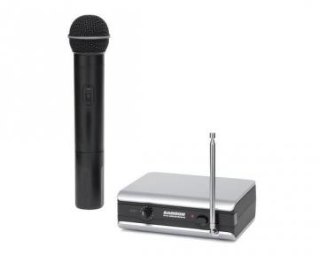 Bevielis rinkinys SAMSON Stage v166 Handheld Wireless System VHF (197,900 Mhz)