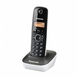 Bevielis telefonas KX-TG1611FXW black/white