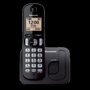 Bevielis telefonas KX-TGC210FXB Black