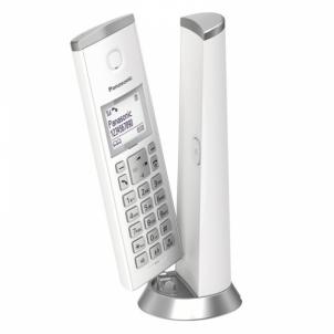 Bevielis telefonas KX-TGK210FXW White Bevieliai telefonai