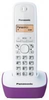 Bevielis telefonas Panasonic KX-TG1611JTF white violet Bevieliai telefonai