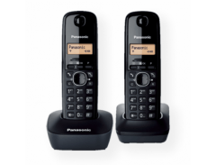 Panasonic KX-TG1612FXH Cordless phone, Black