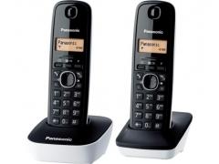 Bevielis telefonas Panasonic KX-TG1612JTW white Wireless phones