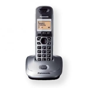 Bevielis telefonas Panasonic KX-TG2511FXM Cordless phone, Silver Bevieliai telefonai