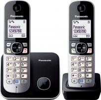 Bevielis telefonas Panasonic KX-TG6812JTB black Wireless phones