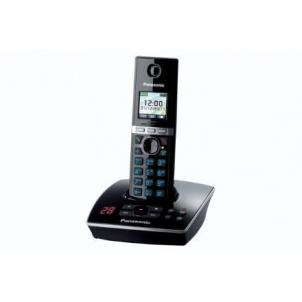 Bevielis telefonas Panasonic KX-TG8061FXB Cordless phone, Black Bevieliai telefonai