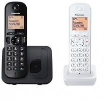 Bevielis telefonas Panasonic KX-TGC212JT1 black white Wireless phones