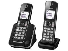 Bevielis telefonas Panasonic KX-TGD312JTB black Bevieliai telefonai
