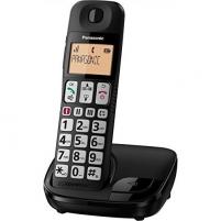 Bevielis telefonas PANASONIC KX-TGE110JTB Black Wireless phones
