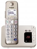Bevielis telefonas PANASONIC KX-TGE220JTN CHAMPAGNE Wireless phones