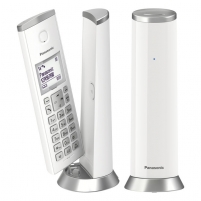 Bevielis telefonas Panasonic KX-TGK212JTW white Bevieliai telefonai
