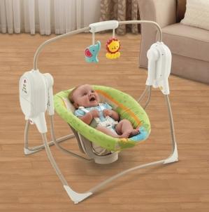 BFH05 lopšelis Mattel Fisher-Price Saugiai kūdikystei