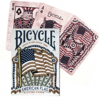 Bicycle American Flag kortos