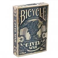 Bicycle Civil War kortos (Mėlynos)