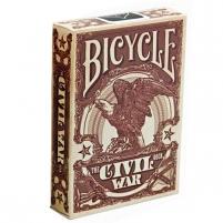 Bicycle Civil War kortos (Raudonos)