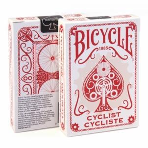 Bicycle Cyclist kortos (Raudonos)