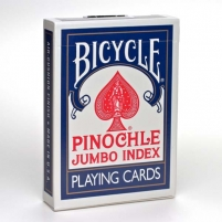 Bicycle Pinochle kortos (Mėlynos)