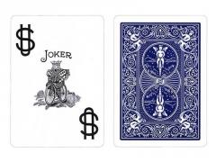 Bicycle Prestige pokerio kortos (Mėlynos)