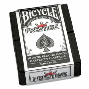 Bicycle Prestige Standard pokerio kortos (Raudonos)