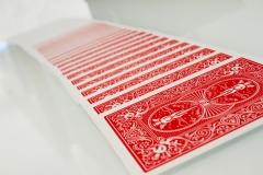 Bicycle Rider Standard pokerio kortos (Raudonos) Žaidimai, kortos