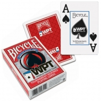 Bicycle WPT pokerio kortos (Juodos)