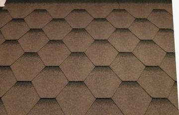 Bituminės čerpelės Super KATRILI ruda Bituminės čerpelės