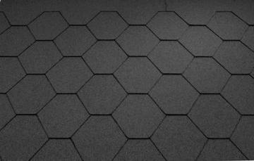 Bitumen roof shingles Super KL black Bitumen roof shingles (tiles)