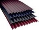 Bituminous Roofing Sheets CORRUBIT 930x2000 mm, red Bituminous sheets