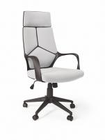 Biuro kėdė vadovui VOYAGER šviesiai pilka/juoda