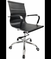Biuro kėdė VANGALOO DM8132, juoda Profesionāla biroja krēsli